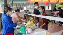 TP. Vinh: Các phường, xã đồng loạt mở điểm bán thực phẩm cho người dân