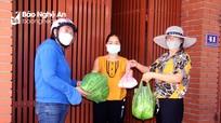 TP. Vinh đảm bảo thực phẩm cho người dân trong khu vực Chỉ thị 16 nâng cao