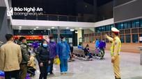 Nghệ An dời điểm đón công dân hồi hương để đảm bảo an toàn trước bão số 8