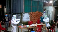 Nghệ An: Phong tỏa các khu vực xuất hiện ca nhiễm Covid-19 mới