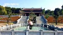 Đền Chung Sơn - nặng nghĩa tưởng nhớ, tri ân