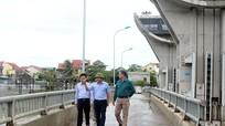 Bộ Nông nghiệp và PTNT kiểm tra công tác tiêu thoát nước tại Nghệ An