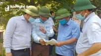 Lãnh đạo ngành Nông nghiệp và PTNT kiểm tra công tác tưới phục vụ sản xuất hè thu