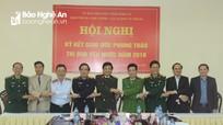 Khối Nội chính - Lực lượng vũ trang ký kết giao ước thi đua yêu nước năm 2018
