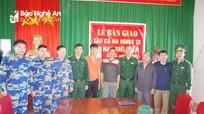 Tàu cá và 7 ngư dân Nghệ An gặp nạn đã về bờ an toàn  