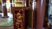 Ba hòm công đức trong chùa Đông Yên bị trộm khoắng sạch