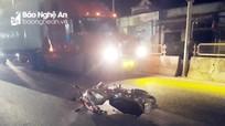 Nam thanh niên bị thương nặng vì đi xe máy ngược chiều