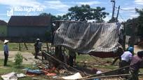 Đô Lương: Tháo dỡ công trình xây dựng trái phép trên đất tập thể