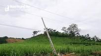 Vụ 4 người tử vong vì điện giật ở Nghệ An: Đơn vị thi công tự ý khởi công