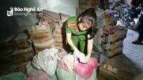 TP Vinh: Phát hiện gần 1 tấn bột bắp, trân châu, hương dừa hết hạn sử dụng
