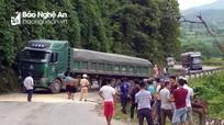Xe tải hỏng giữa đường, Quốc lộ 48 ách tắc hơn 1 ngày