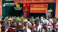 Hội nghị gia đình phạm nhân Trại tạm giam Công an Nghệ An