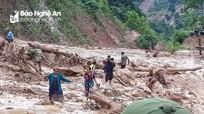 Nghệ An: Tìm thấy thi thể nạn nhân thứ 6 mất tích trong cơn bão số 4