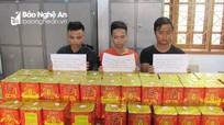 Từ Bắc Giang vào Nghệ An mua bán pháo nổ trái phép