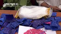 Bắt giữ 3 người ngoại tỉnh vào Nghệ An mua ma túy
