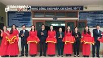 Khai trương Trung tâm hòa giải, đối thoại giải quyết tranh chấp ở Nghi Lộc