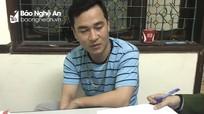 Nghệ An: 2 đối tượng bị bắt giữ khi đang nổ pháo ngoài đường