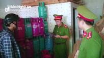 Cảnh sát đột nhập cơ sở kinh doanh gas trái phép số lượng lớn ở thành phố Vinh