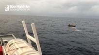 Tạm dừng tìm kiếm các thuyền viên Nghệ An mất tích trên vùng biển Bạch Long Vỹ