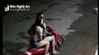 Lộ danh tính đôi nam nữ ở Nghệ An dàn cảnh trộm túi xách trong tiệm tạp hóa