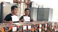 Mua hơn 2 tạ pháo từ Quảng Bình đưa về Nghệ An chờ Tết tiêu thụ