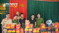 Triệt phá đường dây mua bán pháo từ miền Bắc về Nghệ An tiêu thụ