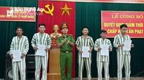 26 phạm nhân ở Nghệ An được giảm thời hạn chấp hành án phạt tù dịp Quốc khánh 2/9