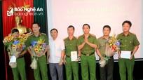 Bộ Công an khen thưởng Ban chuyên án bắt giữ 3 người Trung Quốc đánh cắp tài khoản ATM