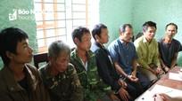 Nghệ An: Giết bò của người cùng bản lấy thịt ăn, 8 người đàn ông bị bắt