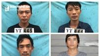 Nhóm thanh niên trộm xe máy ở Nghệ An đưa vào miền Nam tiêu thụ
