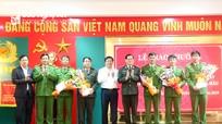 Diễn Châu hoàn thành việc bố trí sỹ quan chính quy về công tác tại công an xã