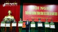 Công an Nghệ An giữ vững lá cờ thi đua của Thủ tướng Chính phủ  