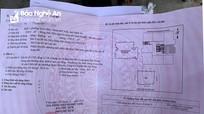 Phát hiện 'bìa đỏ' được làm giả một cách tinh vi tại thành phố Vinh
