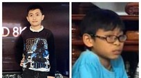 Công an Nghệ An phát thông báo tìm kiếm 2 bé trai mất tích