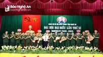 Bế mạc Đại hội đại biểu Đảng bộ Bộ đội Biên phòng tỉnh Nghệ An nhiệm kỳ 2020-2025