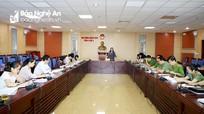 HĐND tỉnh giám sát thực hiện Nghị quyết tại Công an tỉnh, Thanh tra tỉnh, BCH Quân sự tỉnh