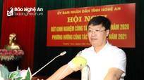 Chủ tịch UBND tỉnh Nghệ An: Không để lọt người không đủ tiêu chuẩn chính trị vào Quân đội, Công an