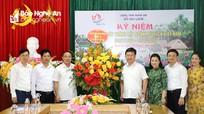 Chủ tịch UBND tỉnh Nguyễn Đức Trung chúc mừng ngành Du lịch nhân ngày truyền thống