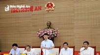 Chủ tịch UBND tỉnh Nguyễn Đức Trung: Nâng cao kỷ cương hành chính, xử lý nghiêm cán bộ sai phạm