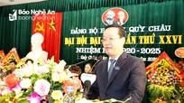 Chủ tịch UBND tỉnh nêu 6 nhiệm vụ, giải pháp nhằm đưa Quỳ Châu phát triển bền vững