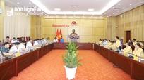 UBND tỉnh và Ủy ban MTTQ tỉnh thống nhất phối hợp thực hiện 6 nhiệm vụ trọng tâm