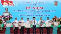 Kỷ niệm 75 năm ngày truyền thống ngành Tư pháp Việt Nam, 40 năm ngành Tư pháp Nghệ An
