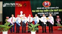 Bế mạc Đại hội đại biểu Đảng bộ huyện Nghi Lộc lần thứ XXIX, nhiệm kỳ 2020 - 2025