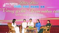 Diễn đàn 'Tuổi trẻ Nghệ An vững ý chí - trọn niềm tin với Đảng'