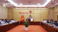 Khẩn trương hoàn thiện đề án Khu lâm nghiệp ứng dụng công nghệ cao tại Nghệ An