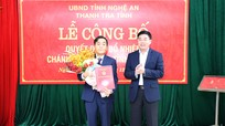 Công bố Quyết định bổ nhiệm Chánh Thanh tra tỉnh Nghệ An