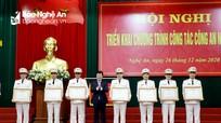 Công an tỉnh Nghệ An tổng kết công tác năm 2020, triển khai nhiệm vụ năm 2021