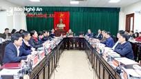 Chủ tịch UBND tỉnh Nguyễn Đức Trung tiếp công dân định kỳ tháng 1/2021