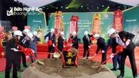 Nghệ An khởi công nhà máy chế tạo thiết bị điện tử thông minh 100 triệu USD