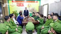 Phó Chủ tịch UBND tỉnh chúc Tết các đơn vị thường trực đêm Giao thừa Tết Tân Sửu 2021